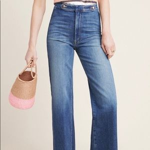 Mother high rise size 32 brand new jeans.